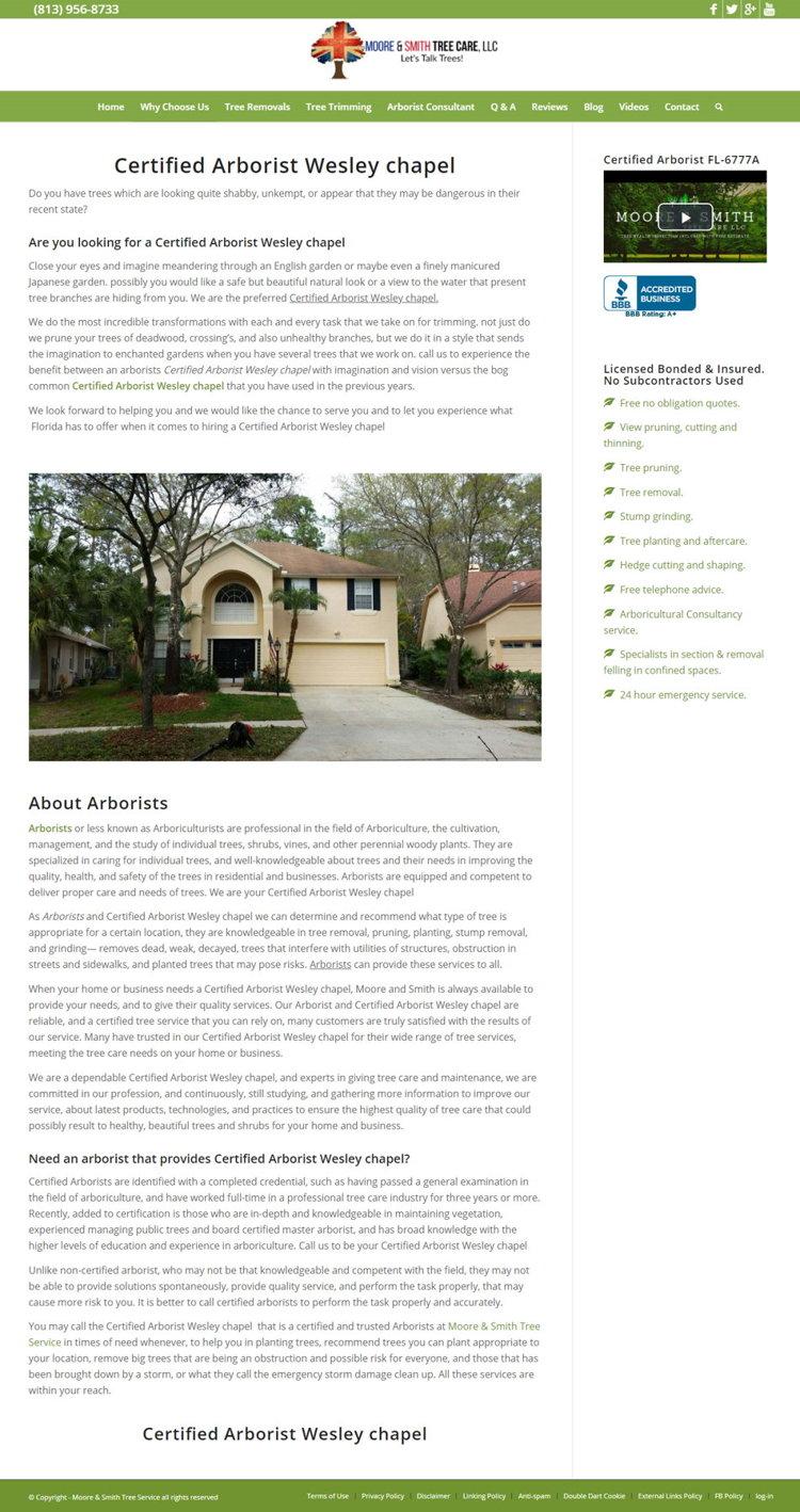 Moore & Smith - Web Dizajn Sajta