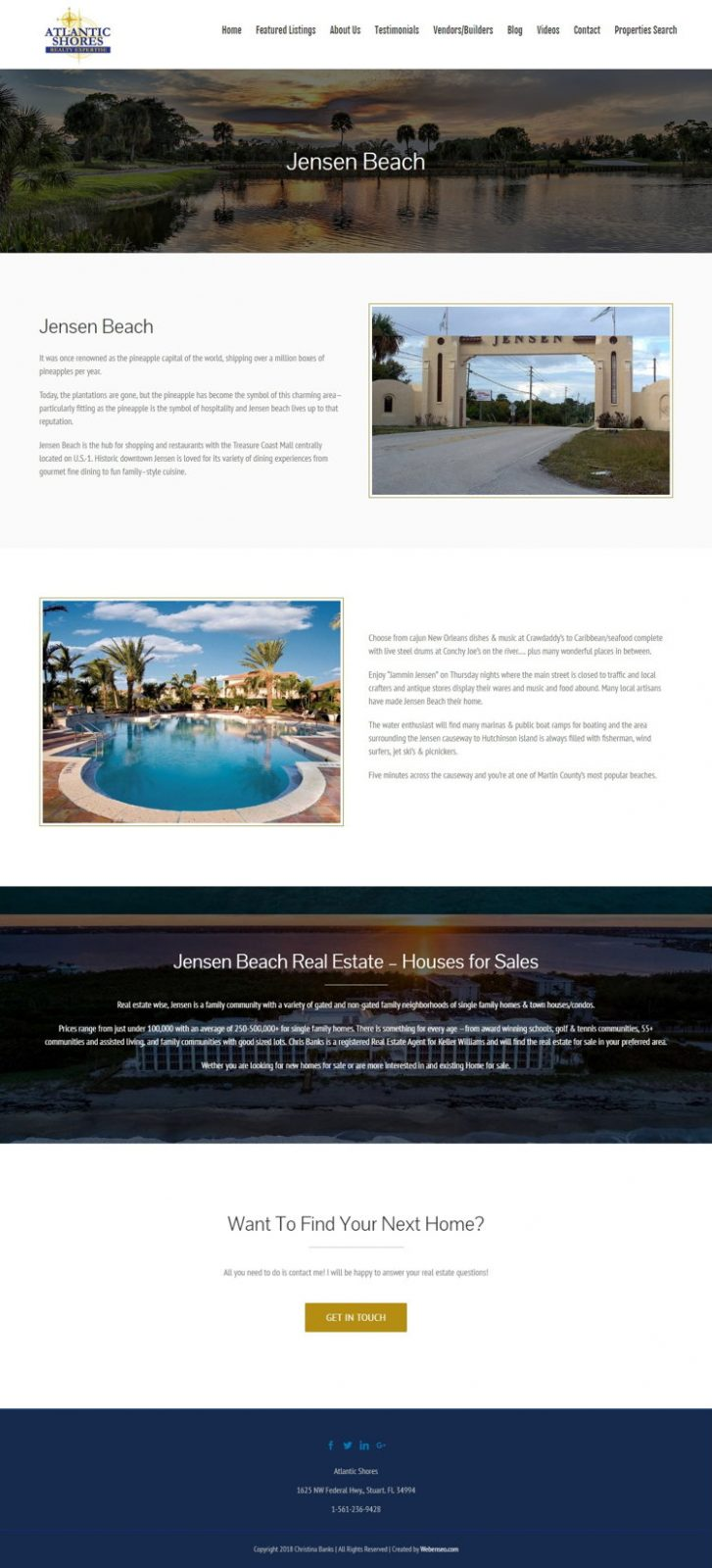 Atlantic Shores - Bluelinemedia - Redizajn Web Sajta