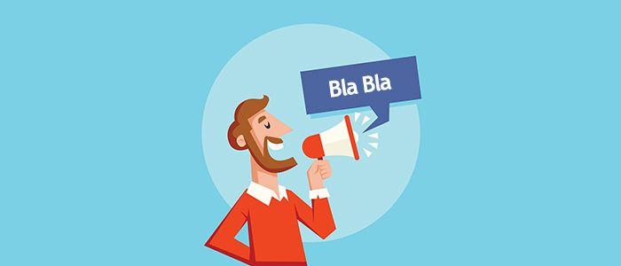 Prestanite da pričate o sebi i svom biznisu - Bluelinemedia