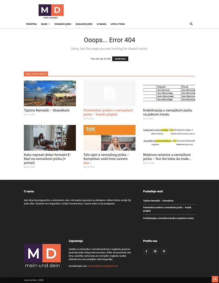 Mein und Dein - Agencija za Digitalni Marketing Bluelinemedia - 404_old