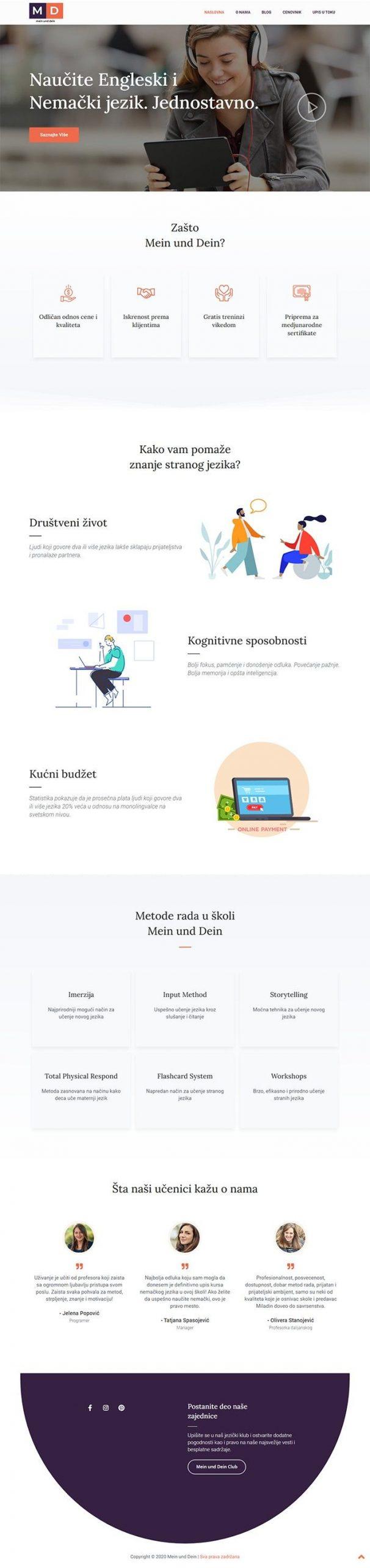 Mein und Dein - Agencija za Digitalni Marketing Bluelinemedia - Naslovna_new